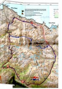 チャンワタン行程地図
