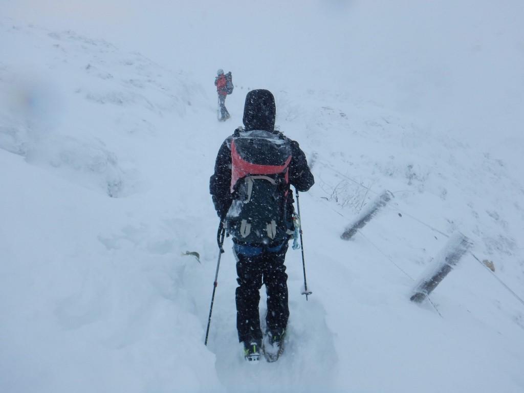 今年登山を始めたKぽん。基本の歩き方から