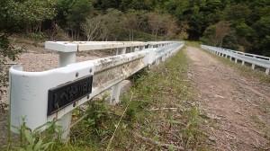 ペテガリからもひたすら林道歩き。(しびちゃり橋)