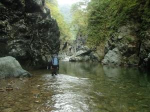 シビチャリ川の一つ目の函